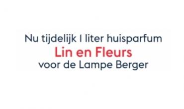 Lampe Berger Parfum van de maand Linen Blossom