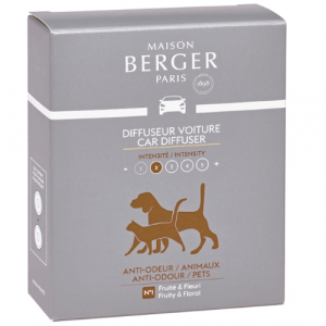 Maison Berger autoparfum navulling Anti-Odeur Pets