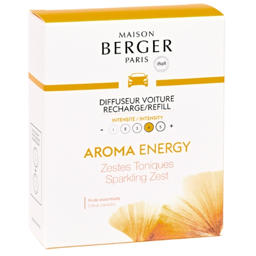 Maison Berger autoparfum navulling Aroma Energy