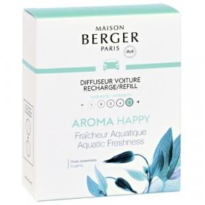 Maison Berger autoparfum navulling Aroma Happy