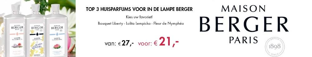 Lampe Berger Huisparfum aanbieding