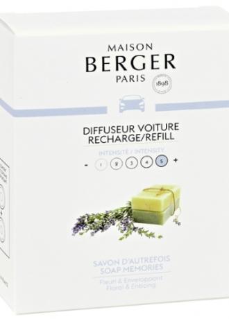 Maison Berger autoparfum navulling Soap Memories
