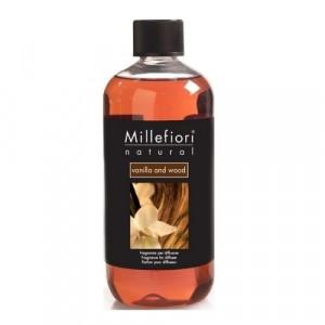 Millefiori Milano Geurstokjes navulling Vanilla & Wood