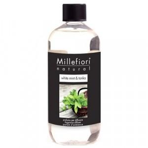 Millefiori Milano Geurstokjes navulling White Mint & Tonka
