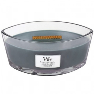WoodWick Geurkaars Evening Onyx Hearthwick Ellipse
