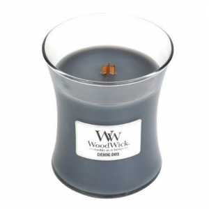 WoodWick Geurkaars Evening Onyx Medium