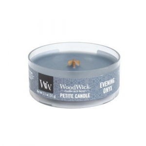 WoodWick Geurkaars Evening Onyx Petite