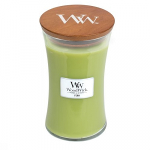 WoodWick Geurkaars Fern Large
