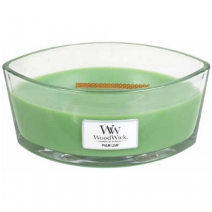 WoodWick Geurkaars Palm Leaf HearthWick Ellipse