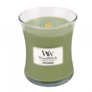 WoodWick Geurkaars Applewood Medium