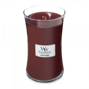 WoodWick Geurkaars Black Cherry Large
