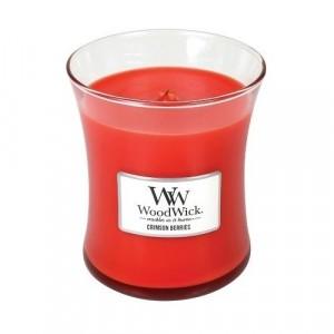 WoodWick Geurkaars Crimson Berries Medium