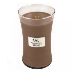 WoodWick Geurkaars Amber & Incense Large