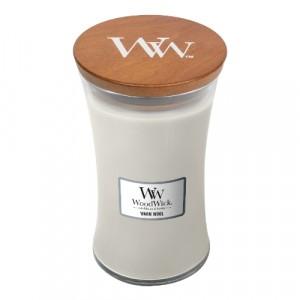WoodWick Geurkaars Warm Wool Large