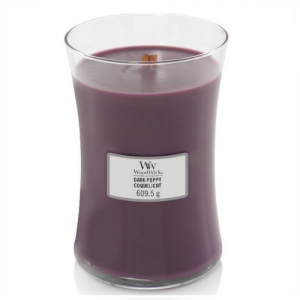 WoodWick Geurkaars Dark Poppy Large