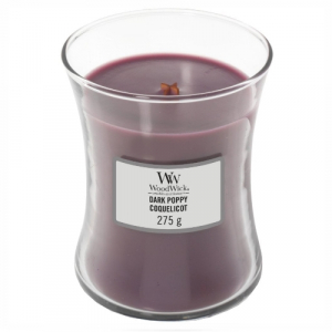 WoodWick Geurkaars Dark Poppy Medium