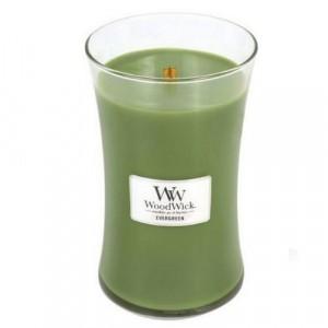 WoodWick Geurkaars Evergreen Large