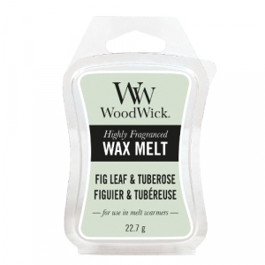 WoodWick Fig Leaf & Tuberose Wax Melt