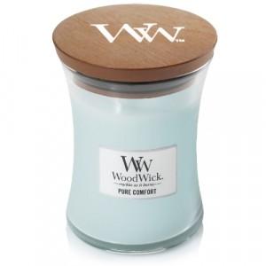 WoodWick Geurkaars Pure Comfort Medium