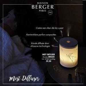 Maison Berger introduceert de Mist Diffuser