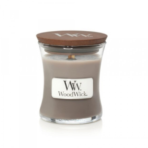 WoodWick Geurkaars Black Amber & Citrus Mini