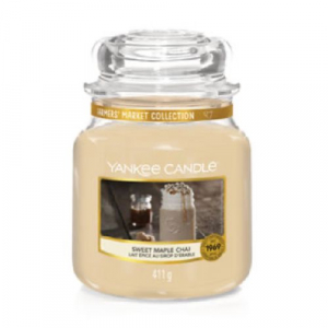 Yankee Candle Sweet Maple Chai Medium Jar