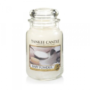 Yankee Candle Baby Powder Large Jar