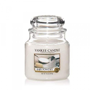 Yankee Candle Baby Powder Medium Jar