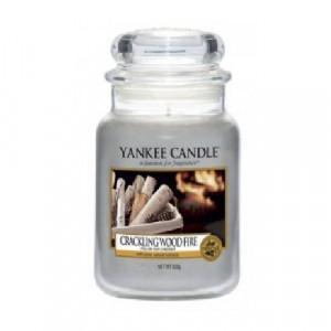 Yankee Candle Crackling Wood Fire Large jar