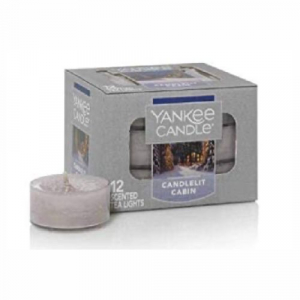 Yankee Candle Candelit Cabin Tea Light 12 St