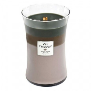 Woodwick Trilogy Cozy Cabin Large