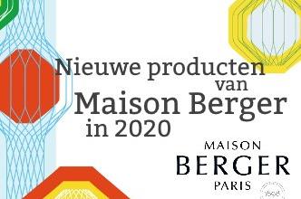Nieuwe producten van Maison Berger in 2020