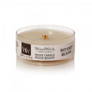 WoodWick Geurkaars White Honey Petite