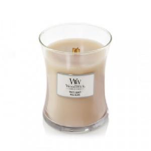 WoodWick Geurkaars White Honey Medium