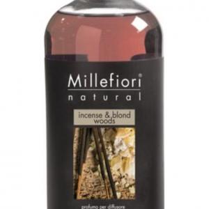 Millefiori Milano Geurstokjes navulling Incense & Blond Woods