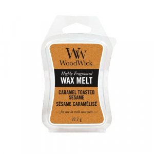 Woodwick Caramel Toasted Sesame Wax Melt