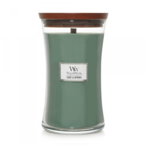Woodwick Sage & Myrrh Large