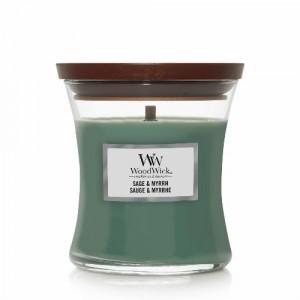 Woodwick Sage & Myrrh Medium