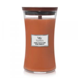 WoodWick Geurkaars Caramel Toasted Sesame Large
