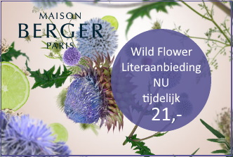 Lampe Berger literaanbieding wild flower