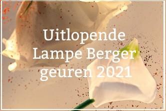 Uitlopende Lampe Berger geuren 2021